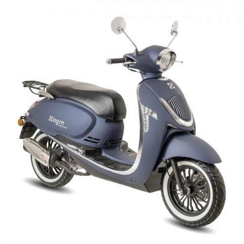 AGM Veterano Euro4 scooter Mat Blauw