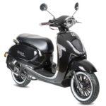 AGM Veterano Euro4 scooter Zwart