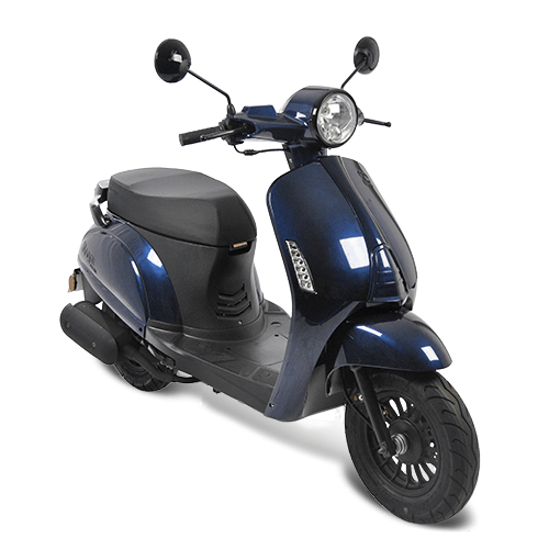 AGM Swan Scooter Donkerblauw