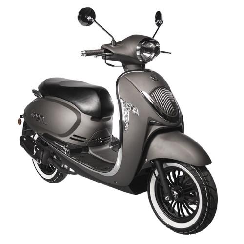 AGM Veterano Euro4 scooter Mat Grijs