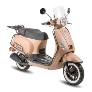 BTC RIVA Luxury Scooter Cappuccino