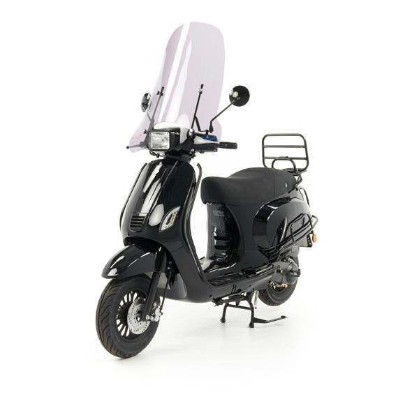 Teyin Sport Scooter Hoog Glans Zwart
