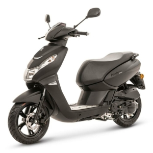 Peugeot Kisbee Black Edition 50CC Matt Black