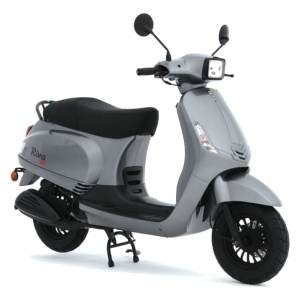 BTC Riva Sport EFI Scooter Grijs metallic