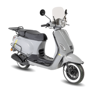 BTC RIVA Luxury EFI Scooter Nardo Grey